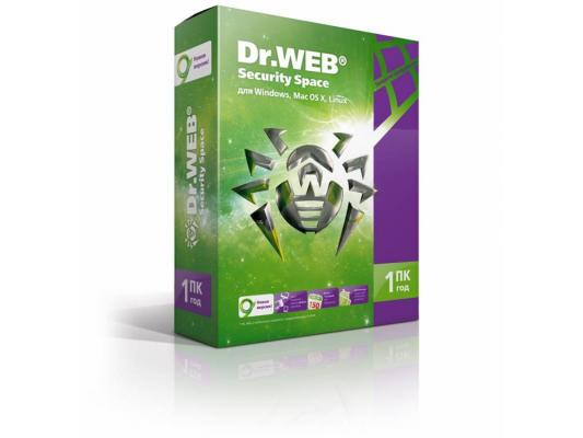 Антивирус Dr.Web Security Space на 12 мес на 1 ПК для CL4101 BHW-B-12M-1-A3