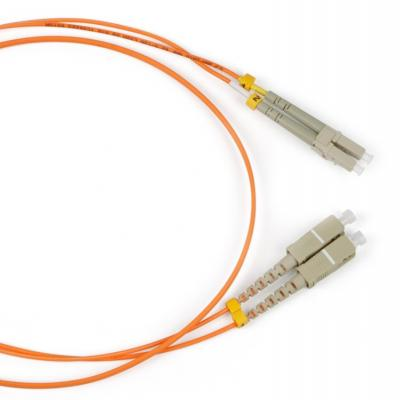 Патч-корд волоконно-оптический (шнур) Hyperline FC-50-LC-SC-PC-2M MM 50/125, LC-SC, duplex, LSZH, 2 м fc nantes amiens sc