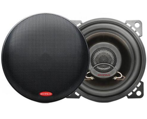 Автоакустика Supra SJ-420 коаксиальная 2-полосная 10см 35Вт-120Вт автомобильная акустическая система pioneer ts 170ci