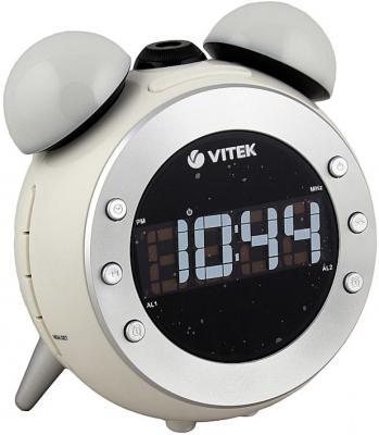 Радиобудильник Vitek VT-3525-W белый