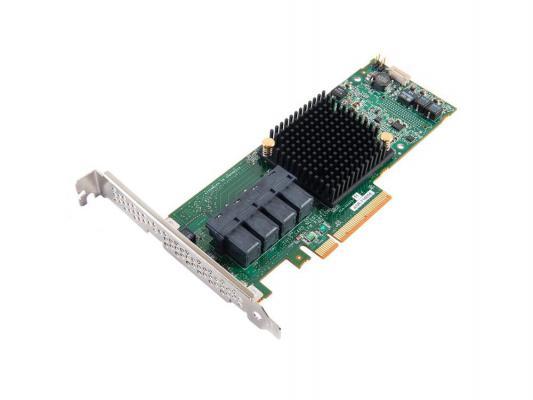 Контроллер Adaptec  ASR-71605 (PCI-E v3 x8, LP) SGL контроллер sas adaptec asr 7805 pci e v3 x8 lp sgl 2274100 r