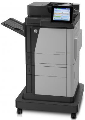 МФУ HP LaserJet Enterprise Color M680f <CZ249A> пр/ск/коп/факс, А4, 43/43стр/мин,ADF,дуплекс,лоток500лст,1280Мб,HDD320Гб,USB,LAN(заменаCC420A CM4540f)