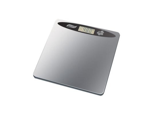 Электронные напольные весы Endever Skyline FS-507, стекло, LED-подсветка, белый с рисунком Бабочка, max -150кг
