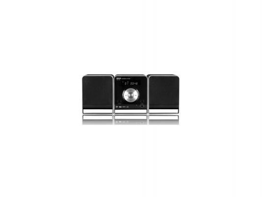 Микросистема Mystery MMK-750U 2x15Вт черный