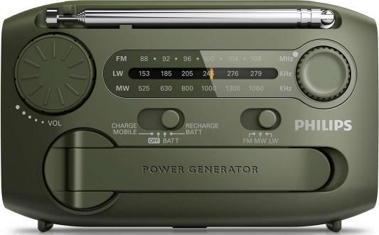 Радиоприемник Philips AE1125/12 зеленый