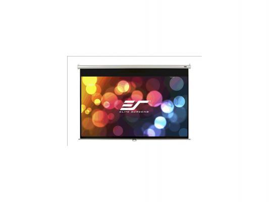 Экран настенный Elite Screens M100UWH 100 16:9 125x221см настенный ручной MW черный экран настенный elite screens m135xwv2 135 4 3 206x274см ручной mw белый