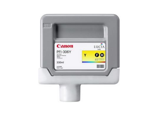 Картридж Canon PFI-306 Y для iPF8300S 8400 9400S 9400 желтый картридж canon pfi 706 b для ipf8400 9400 синий