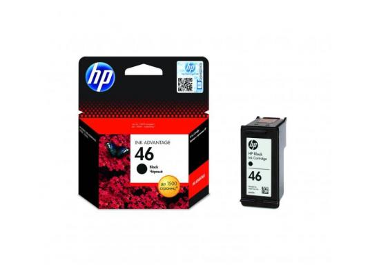 Картридж HP CZ637AE №46 для Deskjet Ink Advantage 2020hc Printer 2520hc AiO черный картридж hp c2p10ae 651 для deskjet ink advantage 5645 5575 чёрный 600 страниц
