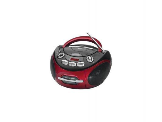 Магнитола AEG SR 4353 черный-красный магнитола rolsen rbm212mur красный черный