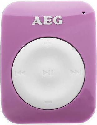 Плеер AEG MMS 4221 4Gb розовый-белый