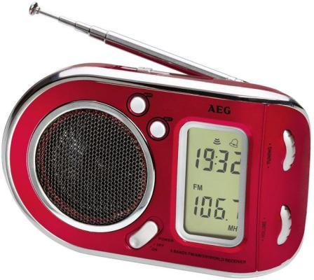 Радиоприемник AEG WE 4125 красный