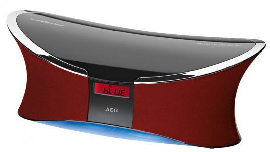 Магнитола AEG BSS 4803 BT черно-красный