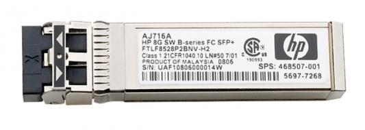 Трансивер HP MSA 2040 8Gb SW FC SFP 4 Pk C8R23A hp hp msa 2040 c8s54a