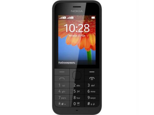 Мобильный телефон Nokia 220 Dual две сим-карты черный