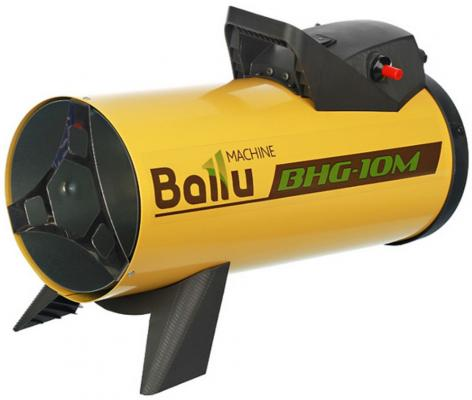 Тепловая пушка Ballu BHG-10 Gaz 1000Вт желтый