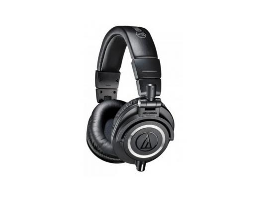Наушники Audio-Technica ATH-M50X черный technica audio technica ath ar5is высокого разрешения портативный звук circumaural гарнитура черный