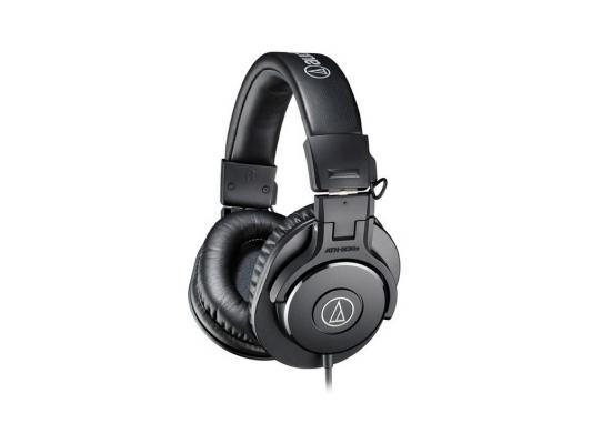 Наушники Audio-Technica ATH-M30X черный technica audio technica ath ar5is высокого разрешения портативный звук circumaural гарнитура черный