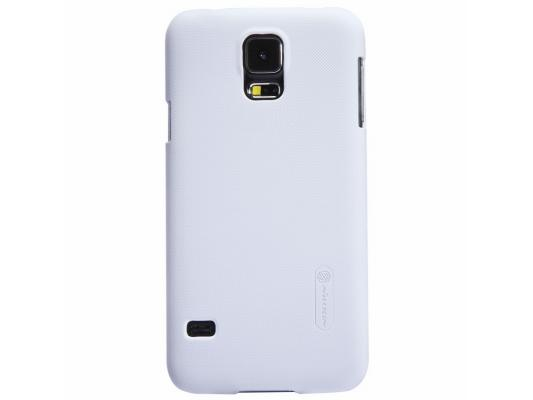 Накладка Nillkin Super Frosted Shield для Samsung Galaxy S5 белый T-N-SG900-002