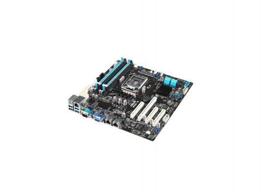 Мат. плата для ПК ASUS P9D-M Socket 1150 Intel C224 4xDDR3 1xPCI-E 16x 3xPCI-E 8x 2xSATA II 4xSATAIII mATX Retail