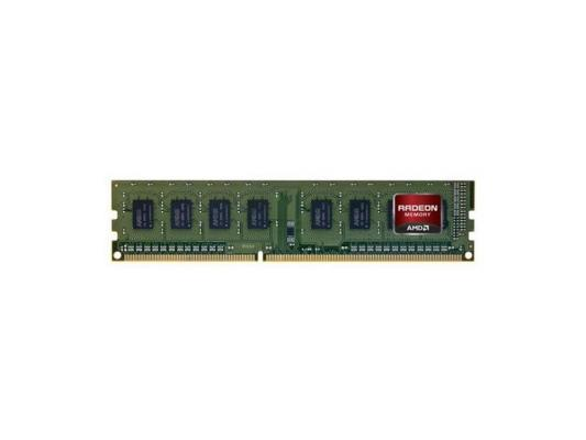 Оперативная память 4Gb PC3-12800 1600MHz DDR3 DIMM AMD R534G1601U1S-UGO OEM green