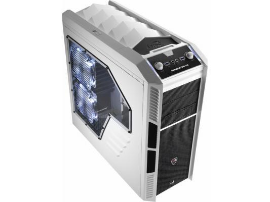 Корпус ATX Aerocool Xpredator X3 White Edition Без БП белый чёрный EN57110