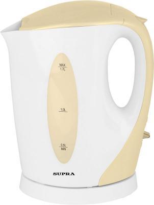 Чайник Supra KES-1702 2200Вт 1.7л пластик бежевый