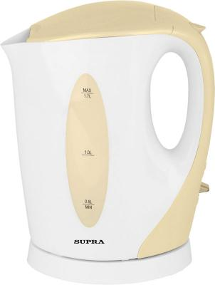 Чайник Supra KES-1702 2200Вт 1.7л пластик бежевый чайник supra kes 1702 pistachio