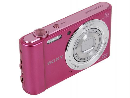 Фотоаппарат Sony DSC-W810/P 20Mp 6x Zoom розовый