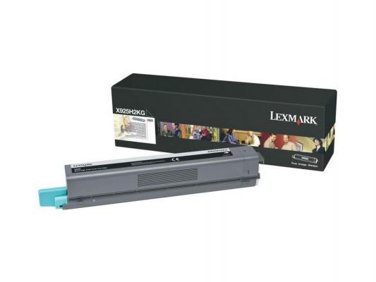 Картридж Lexmark X925H2KG для X925 черный