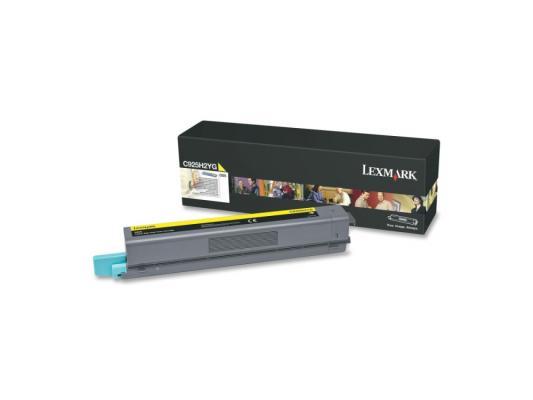 Картридж Lexmark C925H2YG для C925 желтый картридж lexmark c925h2kg для c925 черный