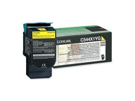 Картридж Lexmark C544X1YG для C544/X544 желтый картридж lexmark 70c8hke для lexmark cs510 cs410 cs310 черный 4000стр
