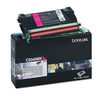 Картридж Lexmark C5340MX для C534 пурпурный compatible toner lexmark c930 c935 printer laser use for lexmark refill toner c940 c945 toner bulk toner powder for lexmark x940