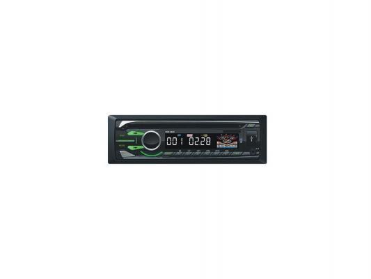 Автомагнитола Rolsen RCR-450G USB MP3 DVD FM 1DIN 4x60Вт пульт ДУ черный