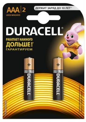 Батарейки Duracell Basic LR03-2BL AAA 2 шт