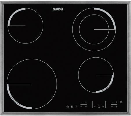 Варочная панель электрическая Zanussi ZEV 6340 XBA черный