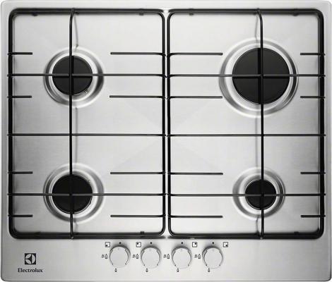 Варочная панель газовая Electrolux EGG 96242 NX серебристый