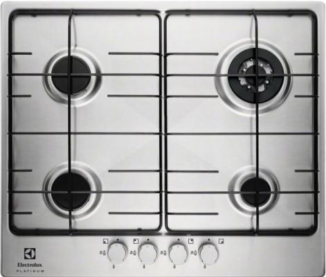 Варочная панель газовая Electrolux EGG96243NX серебристый