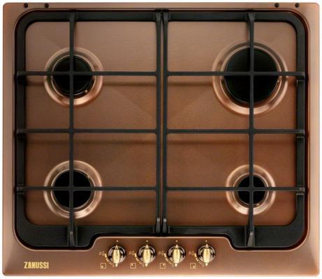 Варочная панель газовая Zanussi ZGG 566414 P коричневый