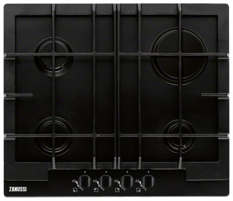 Варочная панель газовая Zanussi ZGG66414BA черный