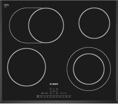 Варочная панель электрическая Bosch PKN651F17 черный дрель электрическая bosch psb 500 re 0603127020 ударная
