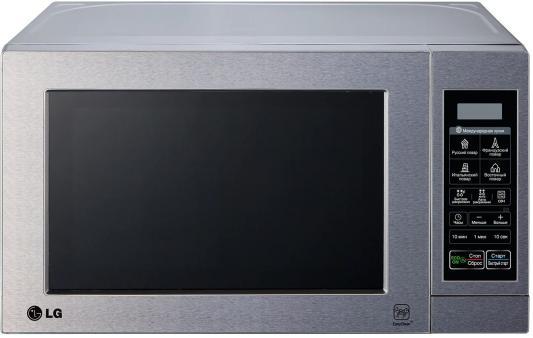 СВЧ LG MS-2044V 800 Вт серебристый батарейку на lg kg 800