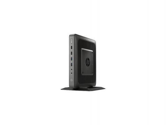 Тонкий клиент HP t620 DC GX-217GA 1.65GHz 4Gb Flash 16GB SSD 16Gb HD8280E WES7 E32 BT HP VGA Adapter клавиатура мышь F5A54AA