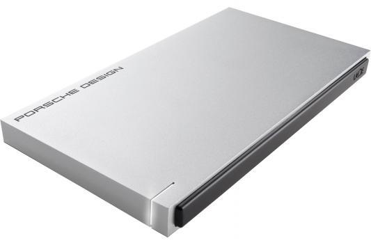 "Внешний жесткий диск 2.5"" USB 3.0 Lacie Porsche Design Slim Drive P9223 120Gb SSD 9000342 серебристый  9000342"