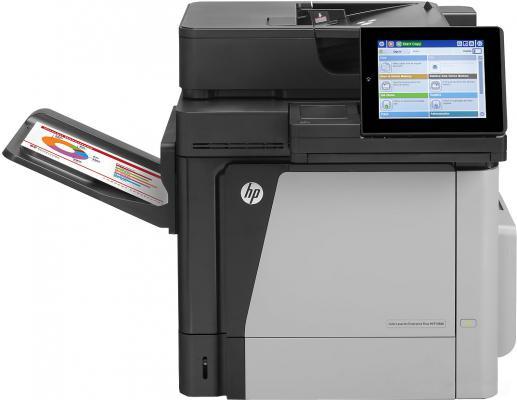 МФУ HP LaserJet Enterprise Color M680dn <CZ248A> пр/ск/копир, А4, 43/43 стр/мин, ADF, дуплекс, 1280Мб, HDD 320Гб, USB, LAN (замена CC419A CM4540)