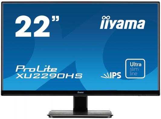 Монитор 21.5 iiYama XU2290HS-B1 монитор iiyama xub3490wqsu b1 черный