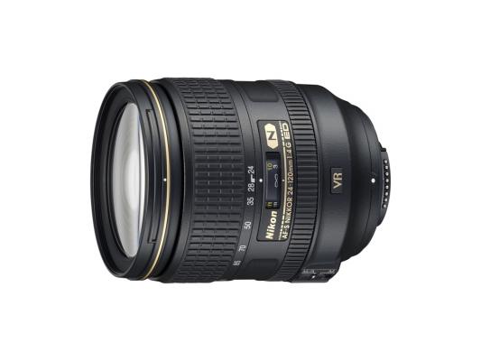 Объектив Nikon 24-120mm f/4G ED VR AF-S Nikkor JAA811DA nikon nikon d3400 slr комплект af s dx nikkor 18 105mm f 3 5 5 6g ed vr black