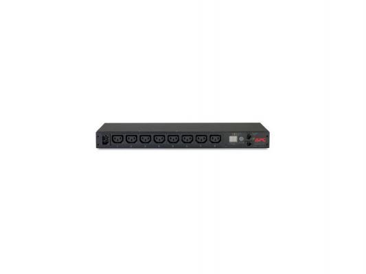 Устройство распределения электропитания APC AP7820 Rack PDU Metered 1U 12A/208V 10A/230V (8) C13