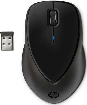 Мышь беспроводная HP H2L63AA цветной чёрный USB мышь hp x1200 wired black h6e99aa