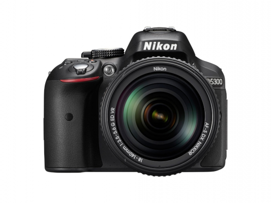 Зеркальная фотокамера Nikon D5300 Kit 18-140 VR 24Mp черный