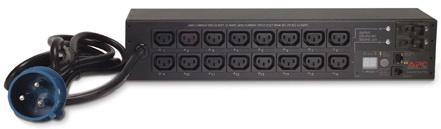 Блок распределения питания APC Rack PDU 2U 32A 230V 16xC13 AP7922